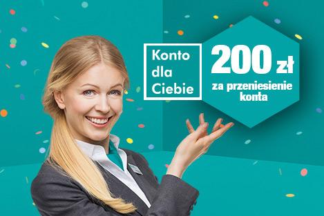 200 zł za konto osobiste w Banku Millennium w promocji 200 zł na Nowy Rok
