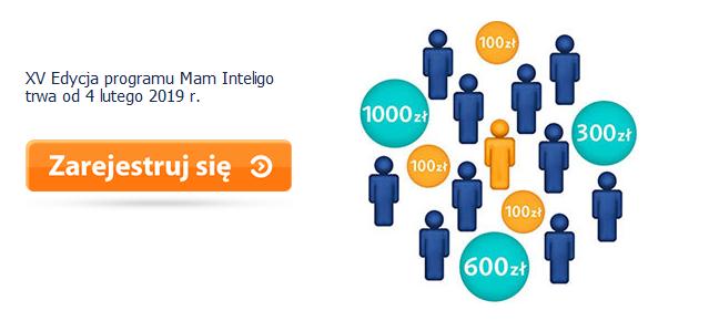 100 zł za konto w Inteligo