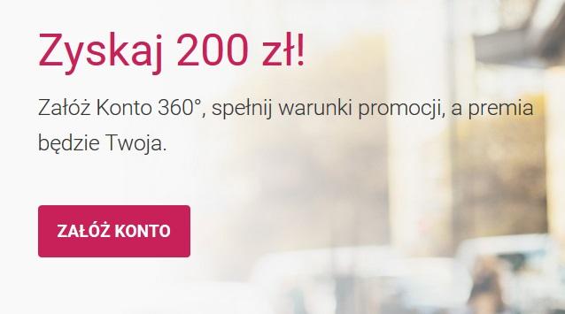200 zł za konto Bank Millennium