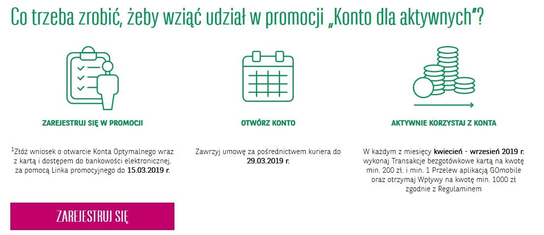6-miesięczny karnet OK System za konto osobiste w BGŻ BNP Paribas