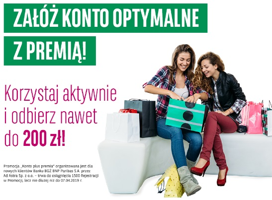 200 zł za konto w BGŻ BNP Paribas