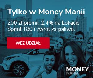 150 zł lub 200 zł za konto i lokatę w Toyota Banku