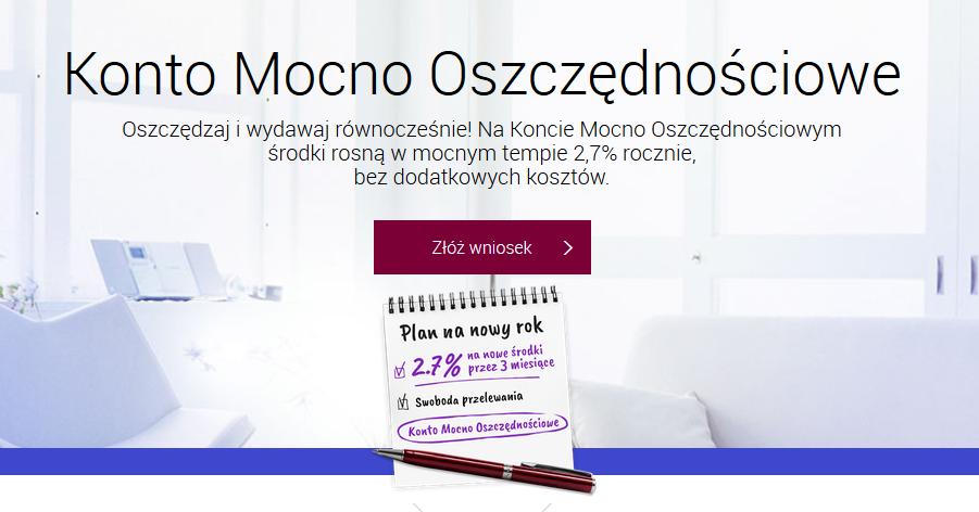 Konto Mocno Oszczędnościowe w Alior Banku na 2,70% – 6 edycja