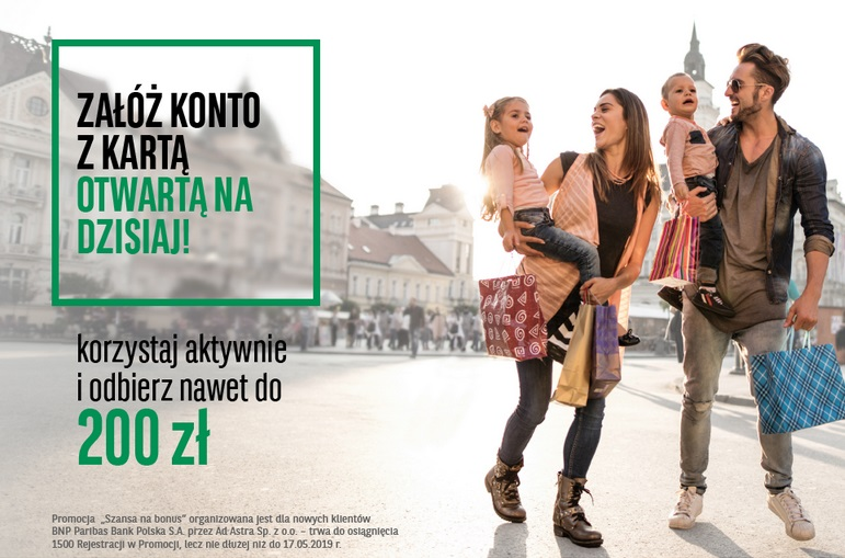 100 zł za polecenie i 50 zł za otwarcie konta + 3,40% na Koncie Oszczędnościowym w Getin Banku