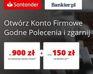 300 zł za konto firmowe w Nest Banku + 100 zł za terminal