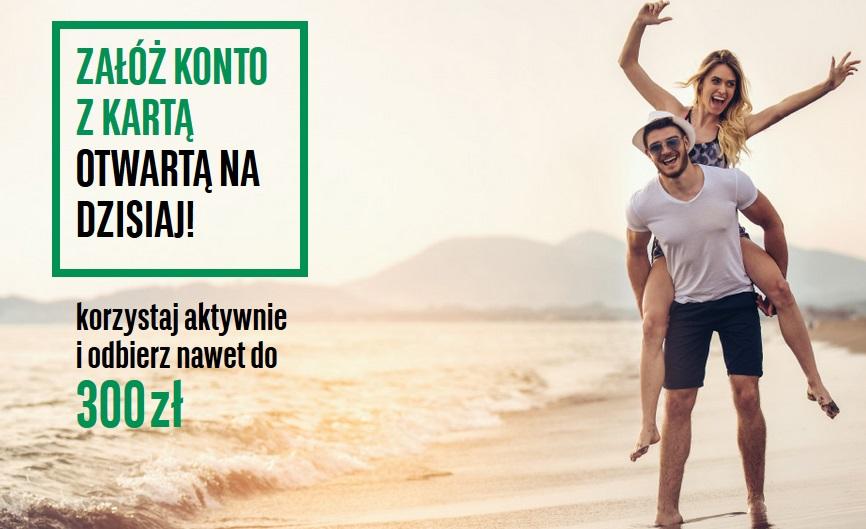 300 zł za konto osobiste w BNP Paribas