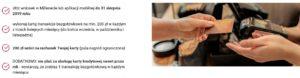 200 zł za kartę kredytową w Banku Millennium w akcji Sierpień z kartą kredytową