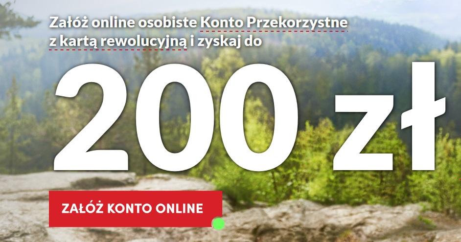 200 zł za konto osobiste w Pekao SA