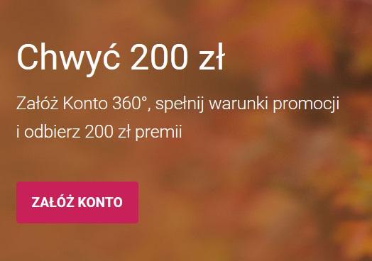 200 zł za konto osobiste w Banku Millennium