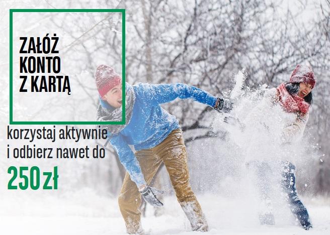 250 zł za konto osobiste w BNP Paribas