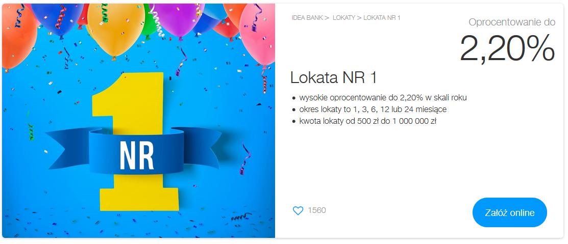 Krótkoterminowe lokaty z podwyższonym oprocentowaniem w Getin Banku, Nest Banku i Idea Banku