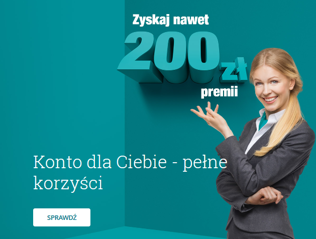 200 zł za konto w Credit Agricole plus 50 zł z polecenia