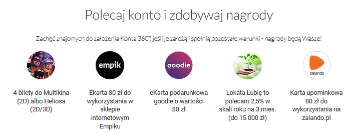 200 zł za konto w Banku Millennium w akcji Premia z Kontem 360