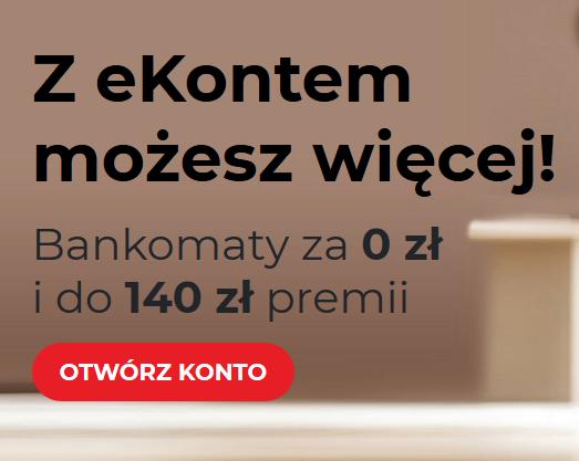 140 zł za konto osobiste w mBanku