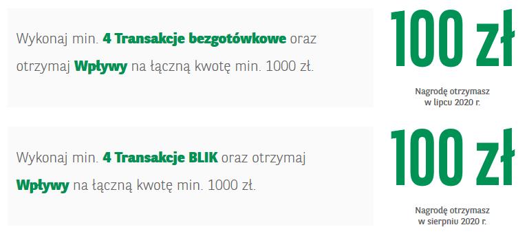 200 zł za konto w BNP Paribas w akcji Majowa premia
