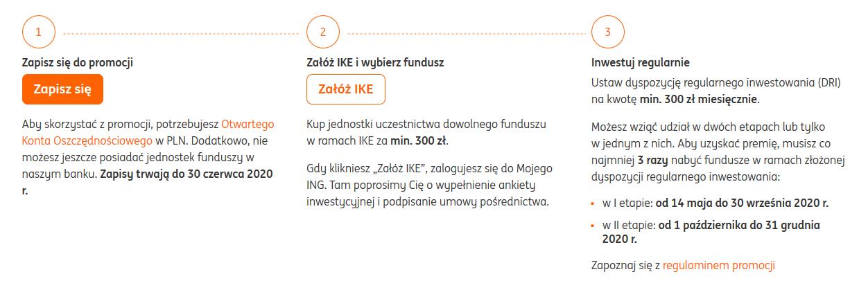 Ponownie do 200 zł za regularne inwestowanie + bonusy dla nowych klientów