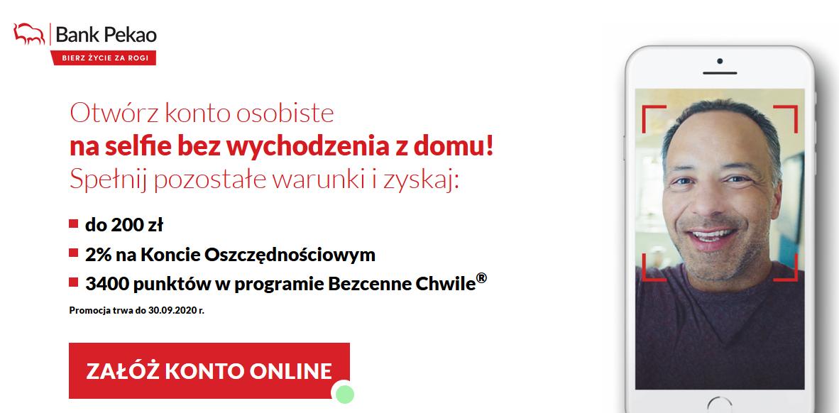 150 zł za konto w Banku Pekao SA + program poleceń