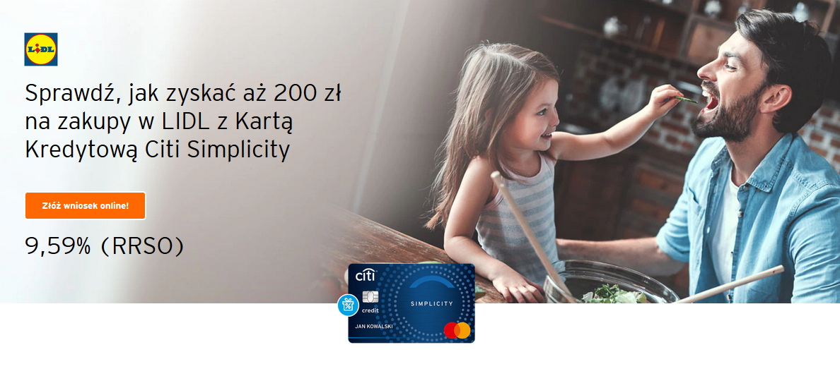 200 zł za kartę kredytową w Citibanku plus inne bonusy i promocje
