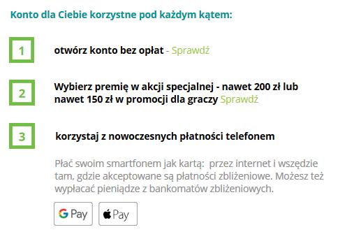 200 zł za konto w Credit Agricole