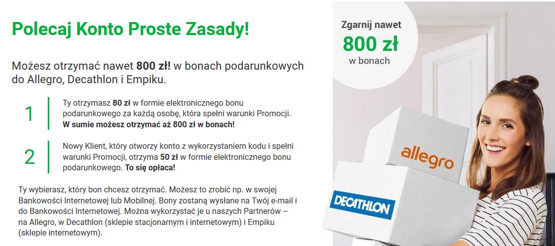 Program poleceń z bonusami w Getin Banku oraz lokaty i konta z oprocentowaniem do 2%