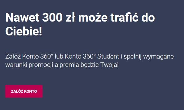 200 zł za konto i 100 zł za lokatę strukturyzowaną w Banku Millennium