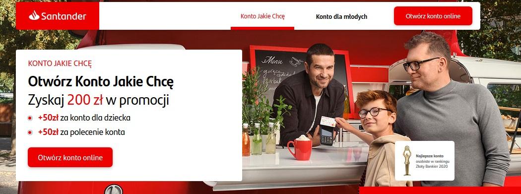 200 zł za Konto dla Młodych w PKO BP