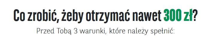 300 zł za konto w BNP Paribas w akcji Premia na zapas