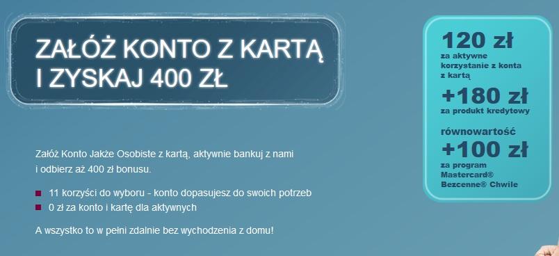 Do 400 zł za konto w Alior Banku