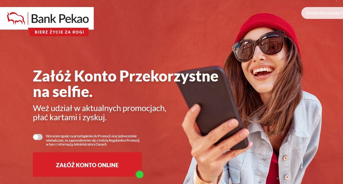 150 zł za konto, 200 zł za kartę kredytową i polecenia w Banku Pekao SA