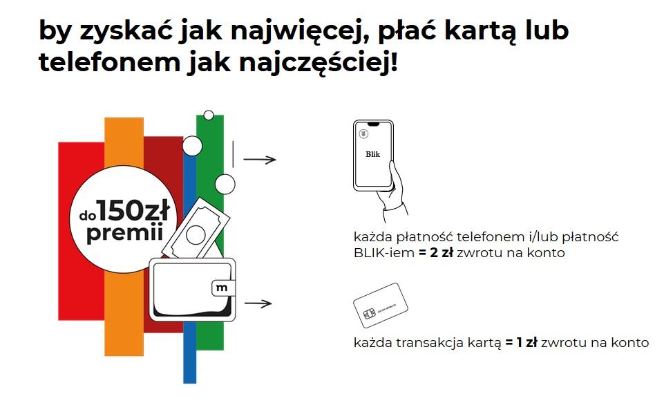 150 zł za konto w mBanku