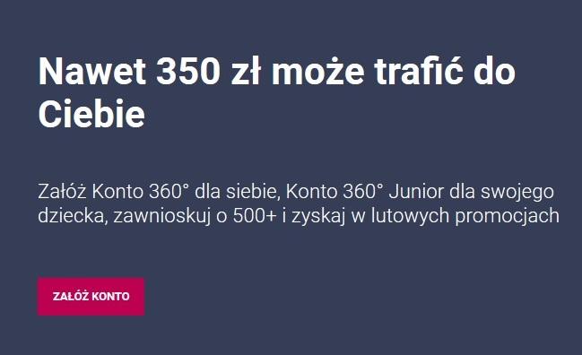 300 zł za kont w Banku Millennium