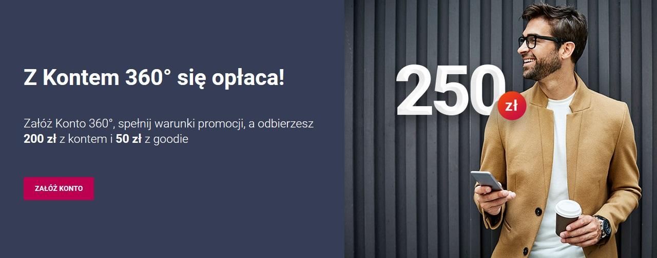 250 zł za konto w Banku Millennium