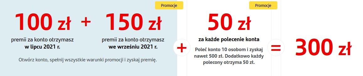 300 zł za konto w Santanderze w majowej promocji