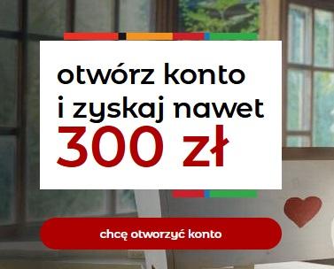 300 zł za konto w mbanku ekonto